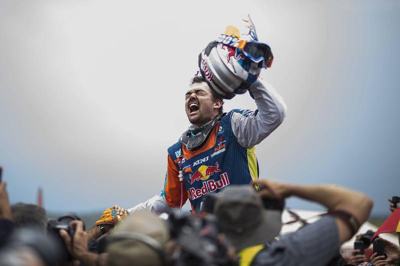 Ganador motos Matthias Walkner, Red Bull KTM Factory Team