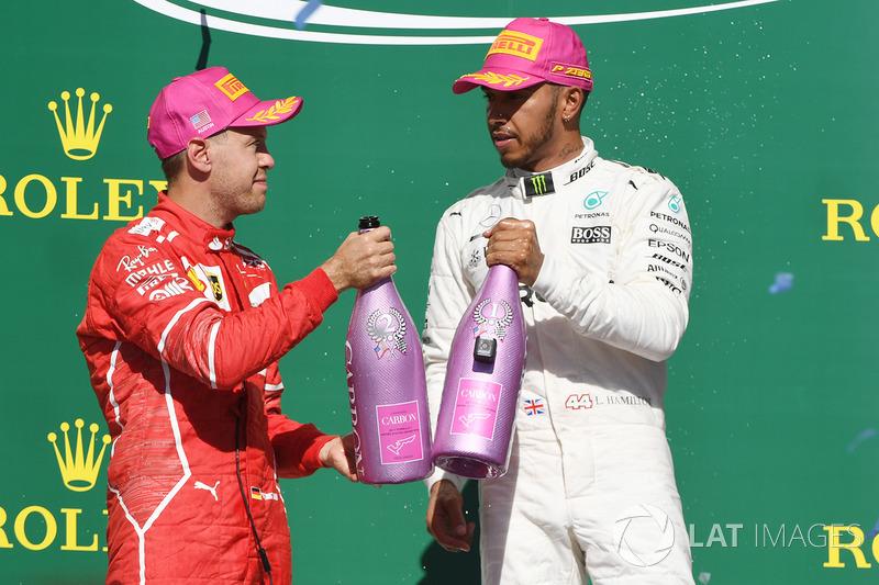 Un gran duelo entre dos pilotos magníficos