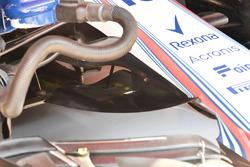 Williams FW41 nose aero detail