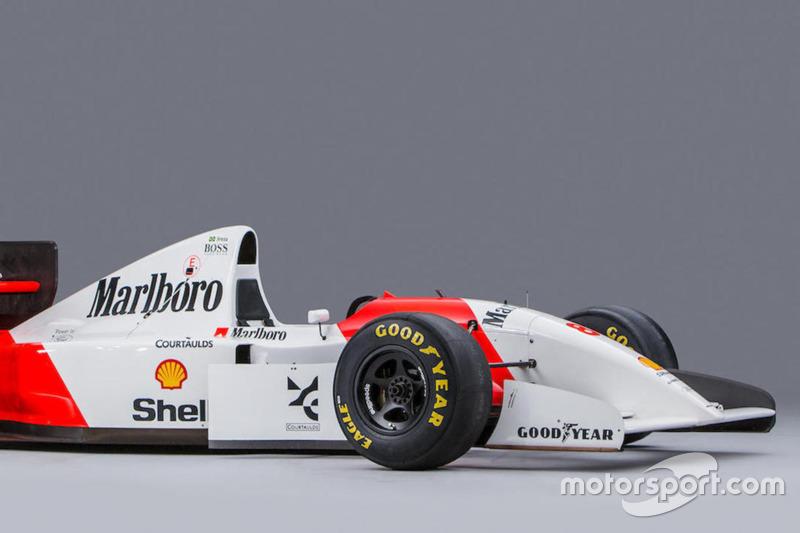Аукціон із продажу боліда Сенни McLaren 1993 року