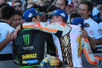 Жоанн Зарко, Monster Yamaha Tech 3, Марк Маркес, Repsol Honda Team у закритому парку