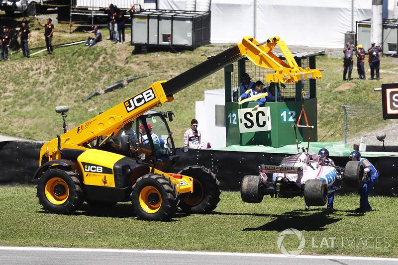 8 місце — Естебан Окон, Force India — 83