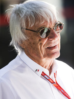Bernie Ecclestone, président d'honneur de la Formule 1