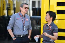 غونتر شتاينر، مدير فريق هاس وأيوا كوماتسو، رئيس مهندسي السباقات بفريق هاس