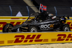 Petter Solberg of Team Nordic driving the ROC Car