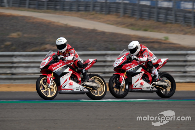 AP250: Rheza Danica dan Mario Suryo Aji, Astra Honda Racing Team