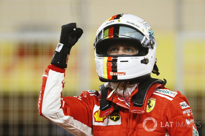 2. GP Bahrain - Pole: Sebastian Vettel