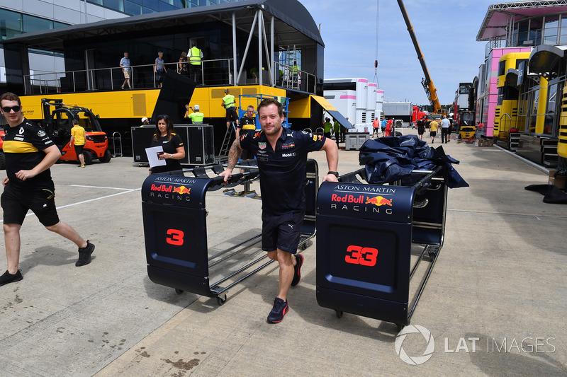 Meccanico Red Bull Racing
