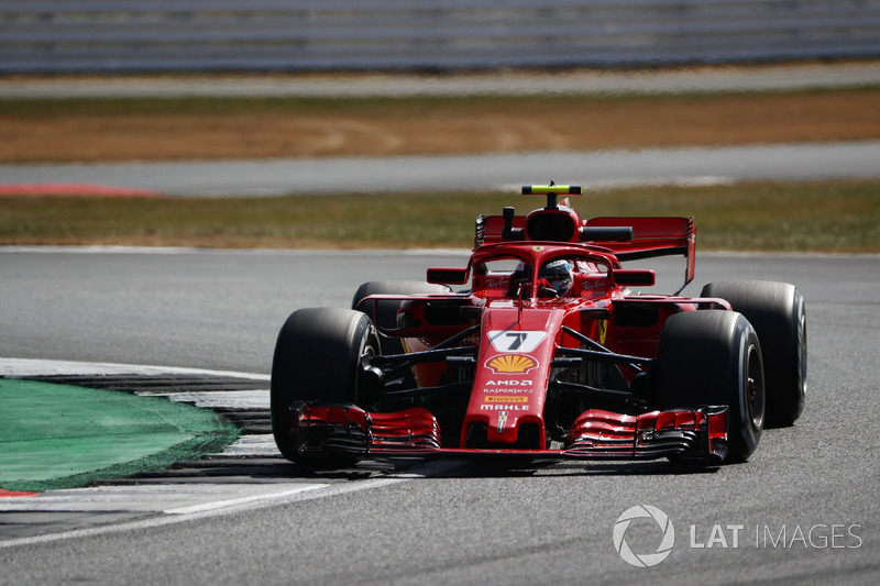 4. Kimi Räikkönen, Ferrari SF71H