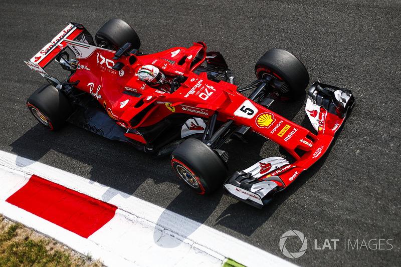 2017: Sebastian Vettel, Ferrari SF70H