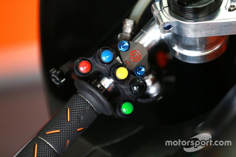 Red Bull KTM Factory Racing detalle de la moto