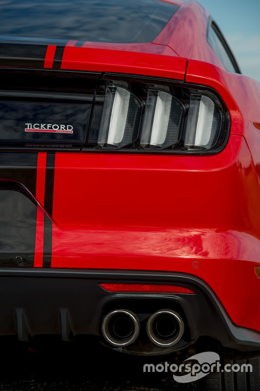 Tickford Ford Mustang: Heck
