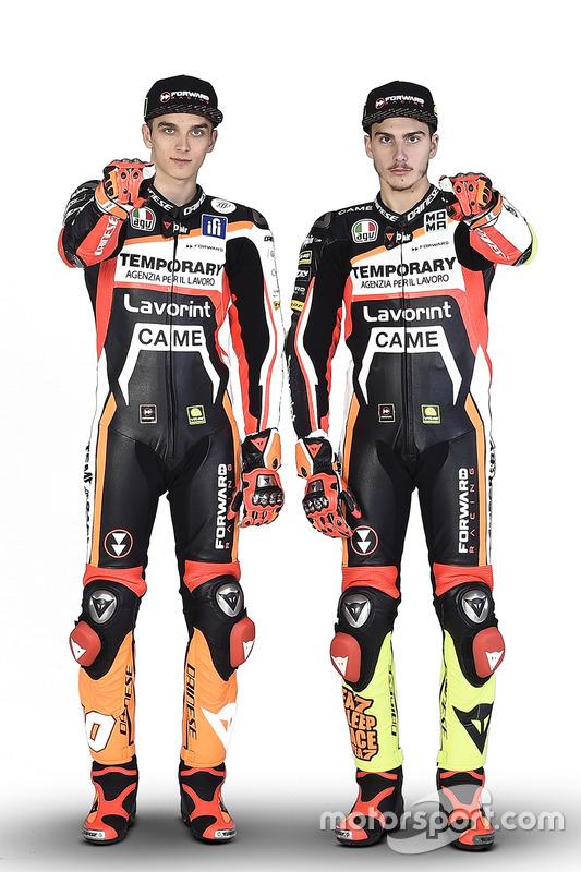 Luca Marini, Forward Racing; Lorenzo Baldassarri, Forward Racing