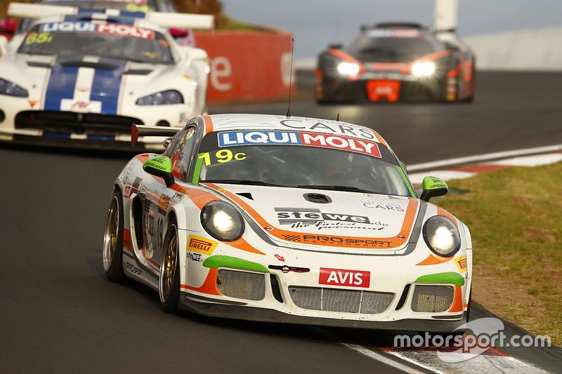 #19 PROsport Performance, Porsche Cayman PRO 4: Andrew Pilgrim, Max Braams, Jörg Viebahn, Nicolaij Möller-Madsen