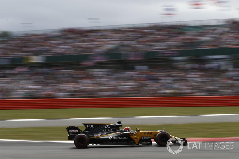 A equipe atualmente está em oitavo nos construtores, uma posição à frente do que após o GP da Hungria de 2016. Ainda é pouco para os objetivos da Renault.