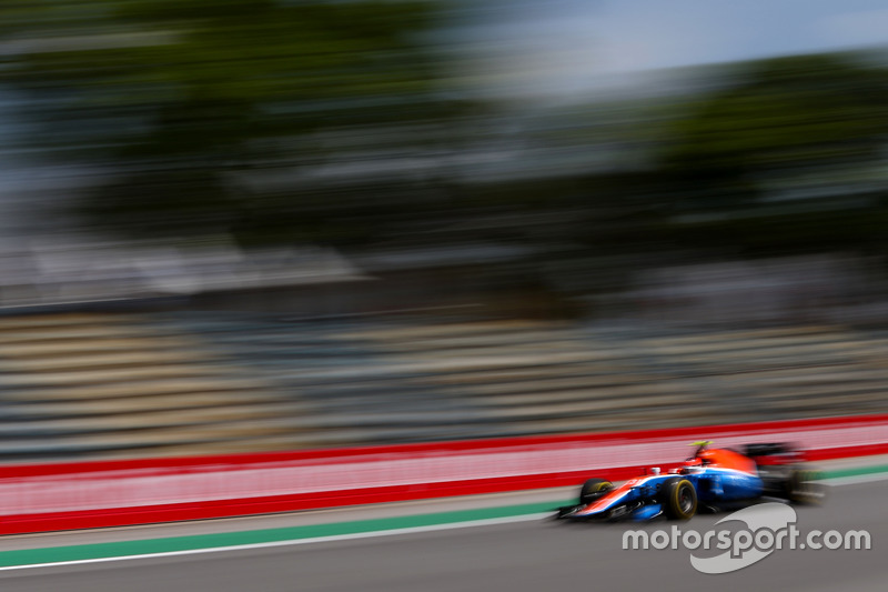 Esteban Ocon (FRA) Manor Racing 11.11.2016. Formula 1 World Championship, Rd 20, Brazilian Grand Pr
