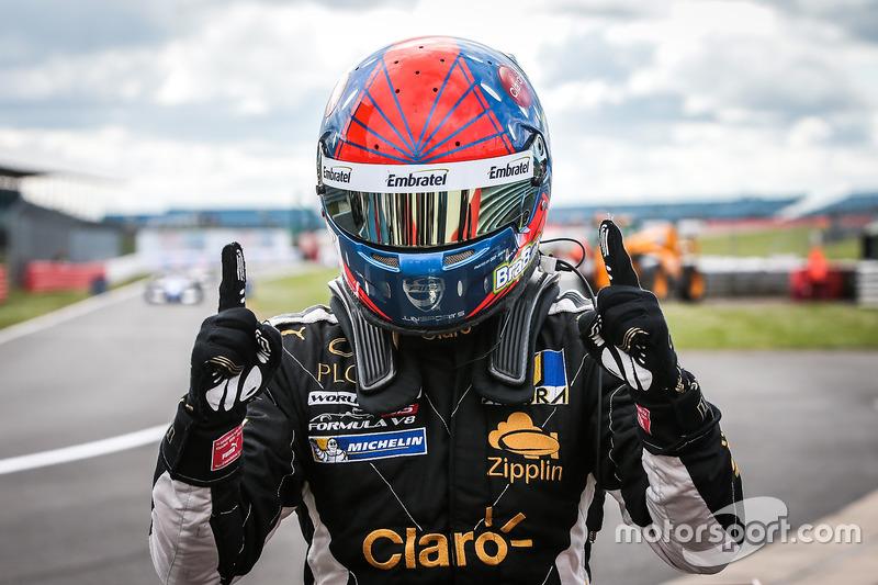 Le vainqueur Pietro Fittipaldi, Lotus
