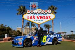 Chad Knaus, Crewchief von Jimmie Johnson, in Las Vegas
