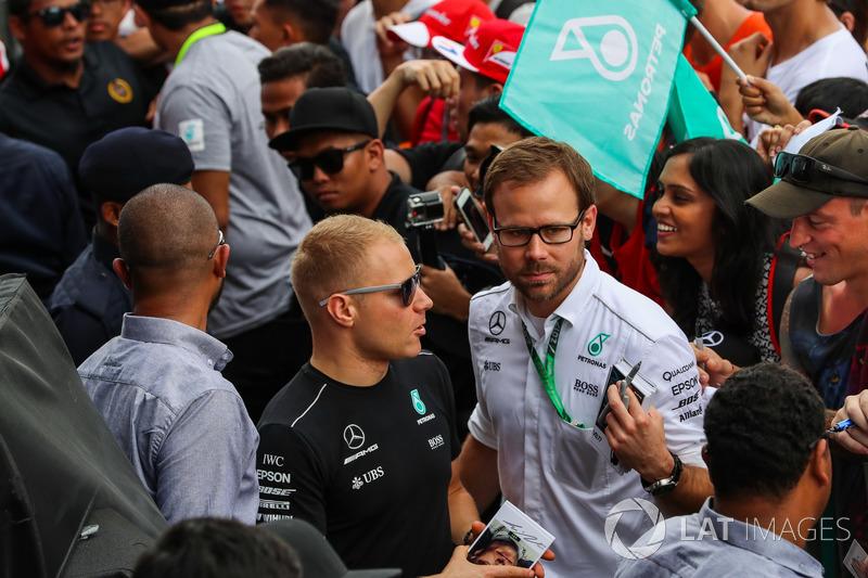 Валттері Боттас, Mercedes AMG F1 з уболівальниками