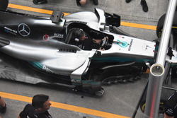Бокові дефлектори Mercedes AMG F1 W08