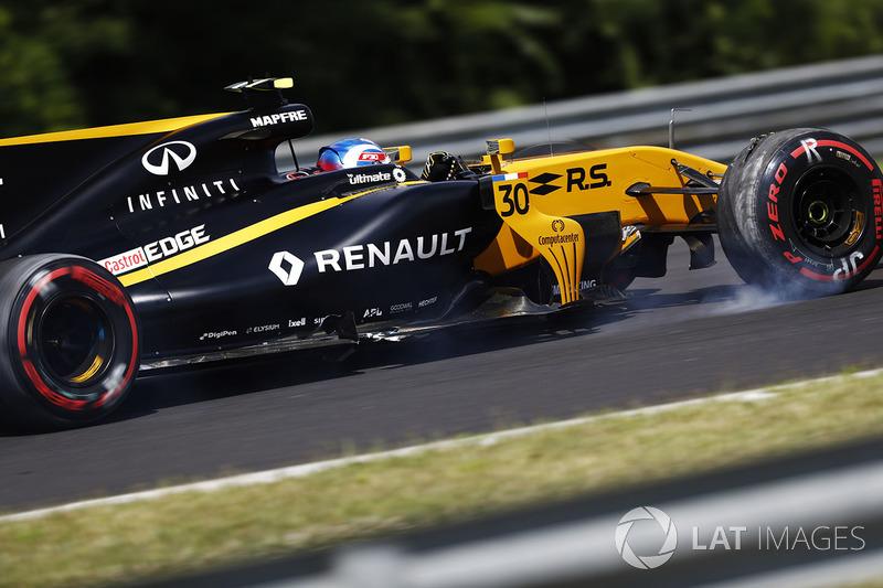 10. Джолион Палмер, Renault Sport F1 RS17
