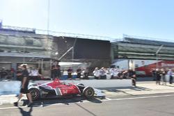 Oriol Servia test de 2018 Honda IndyCar