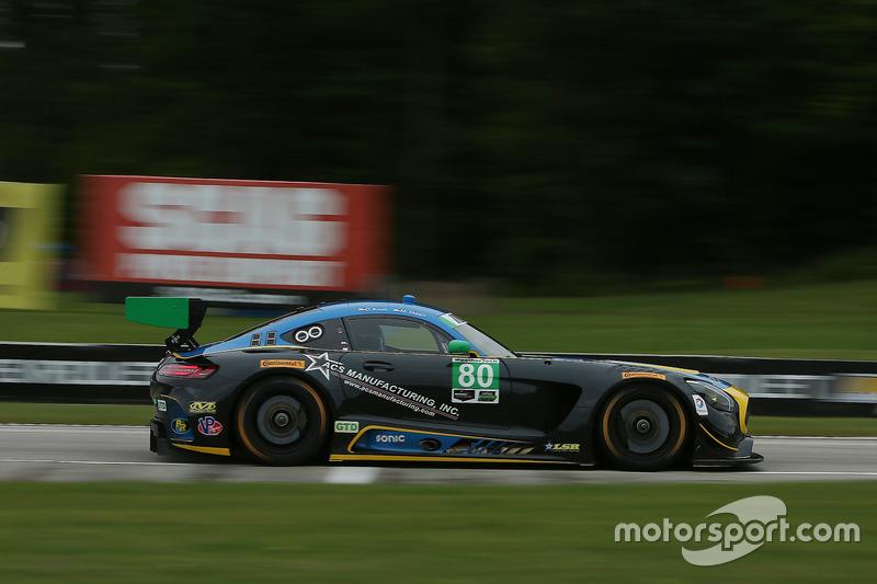 #80 Lone Star Racing Mercedes AMG GT3: Ден Нокс, Майк Скін