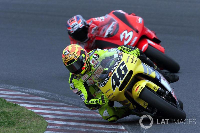 7: Валентино Россі (2001, Honda)