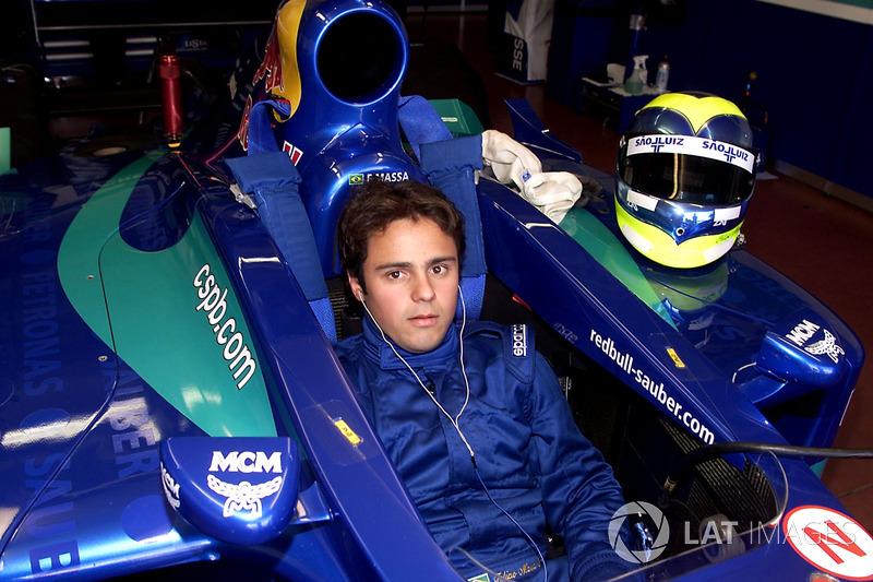 Septiembre 2001: Felipe Massa