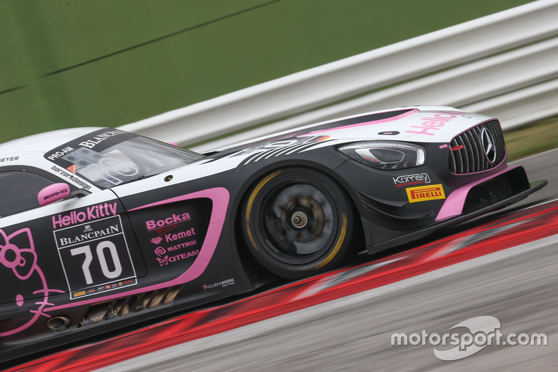 #70 Kornely Racing, Mercedes-AMG GT3: Yoshi Mori, Kenneth Heyer