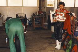 Adrien Morillas, Kawasaki Racing, Sieger Budapest 1988