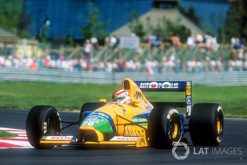 O último companheiro de equipe de Piquet foi um jovem Michael Schumacher, que mostrou velocidade desde o início. Nas provas em que competiram juntos, Piquet marcou mais pontos: 4,5 contra 4.