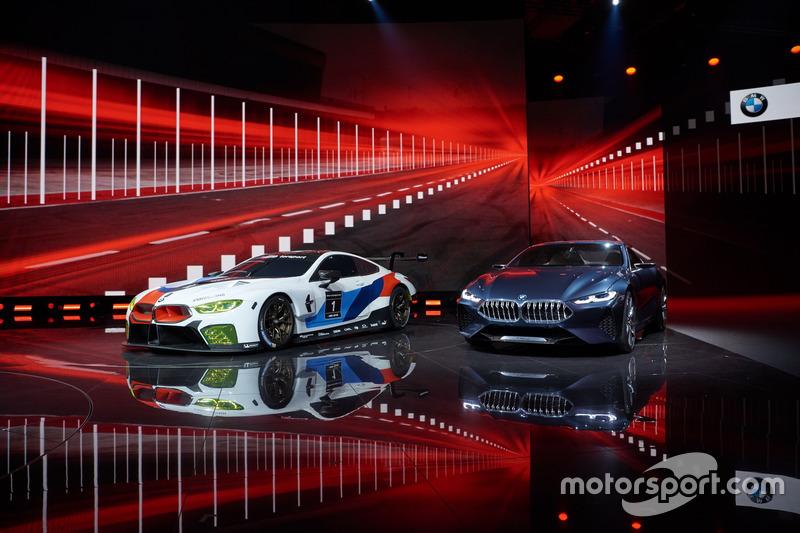 BMW M8 GTE with BMW 8-series