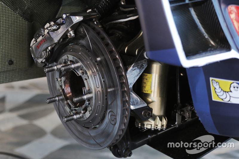 M-Sport, Ford Fiesta WRC detalle de freno