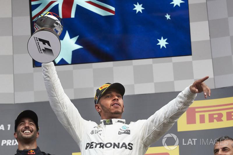 Переможець Льюіс Хемілтон, Mercedes AMG F1