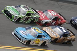 Daniel Hemric, Richard Childress Racing Chevrolet Daniel Suárez, Joe Gibbs Racing Toyota