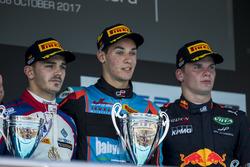 Podium: Dorian Boccolacci, Trident, Alessio Lorandi, Jenzer Motorsport, Niko Kari, Arden International