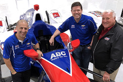 Tony Kanaan, Eric Cowdin, race engineer, A.J. Foyt
