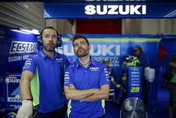 Team Suzuki MotoGP team members