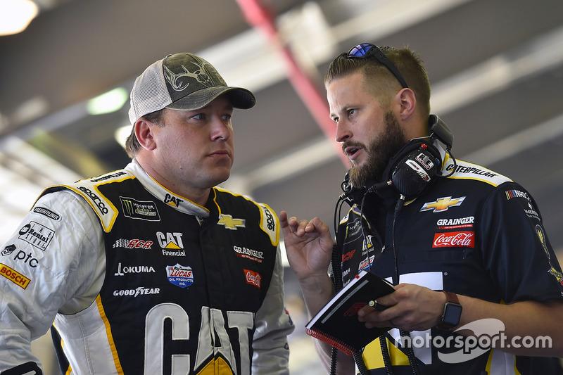Ryan Newman, Richard Childress Racing Chevrolet y Luke Lambert