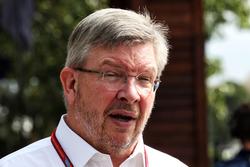 Ross Brawn, Managing Director, F1 Motor Sports