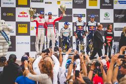 Podium: second place Andreas Mikkelsen, Anders Jäger, Citroën C3 WRC, Citroën World Rally Team