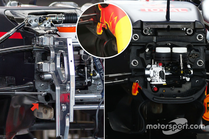Red Bull Racing RB12 tabique hermético