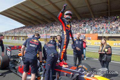 Racing days by Max Verstappen