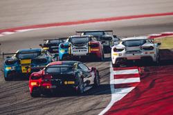 Ferrari Challenge start