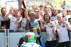 Le vainqueur Franco Morbidelli, Marc VDS