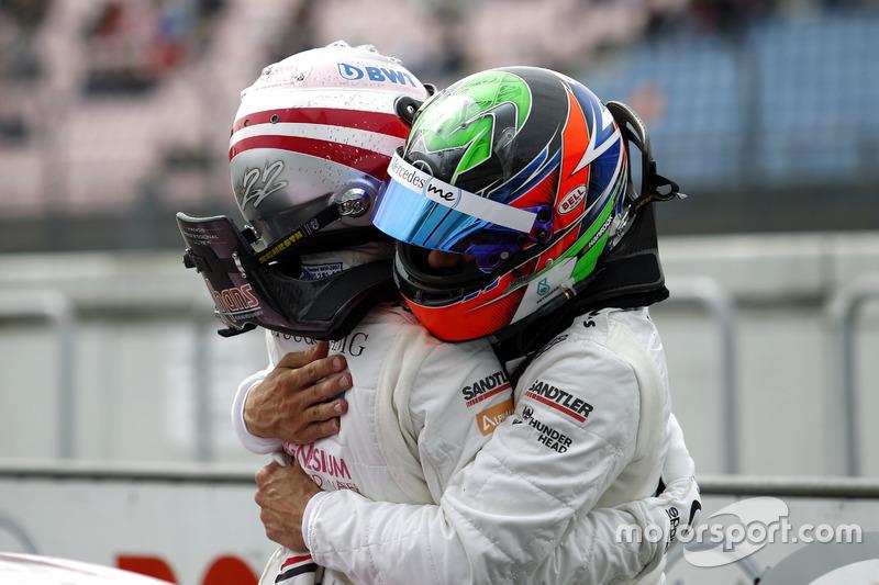 Lucas Auer, Mercedes-AMG Team HWA, Mercedes-AMG C63 DTM and Gary Paffett Mercedes-AMG Team HWA, Merc