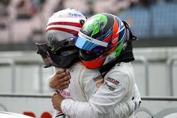Lucas Auer, Mercedes-AMG Team HWA, Mercedes-AMG C63 DTM; Gary Paffett Mercedes-AMG Team HWA, Mercedes-AMG C63 DTM