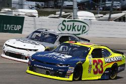 Brandon Jones, Richard Childress Racing Chevrolet, Brett Moffitt, Chevrolet Camaro
