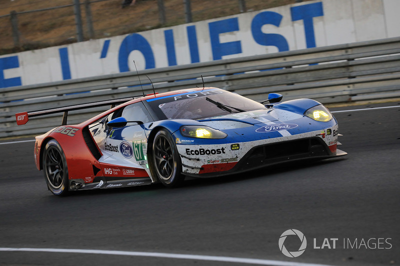 2. LMGTE-Pro: #67 Ford Chip Ganassi Racing, Ford GT